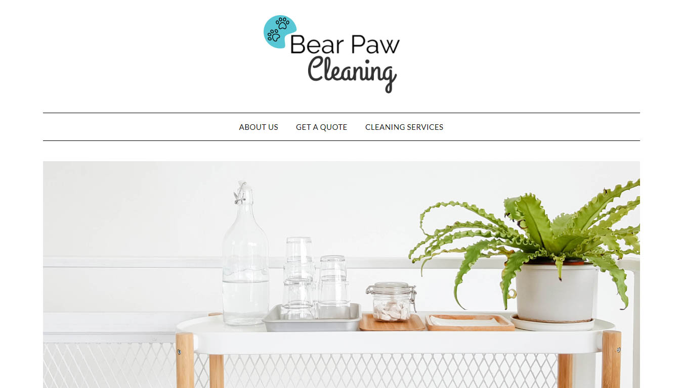 Bear Paw Cleaning
